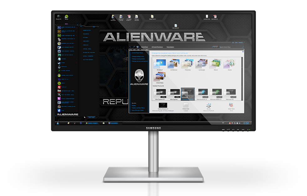 Alienware HQ BLUE